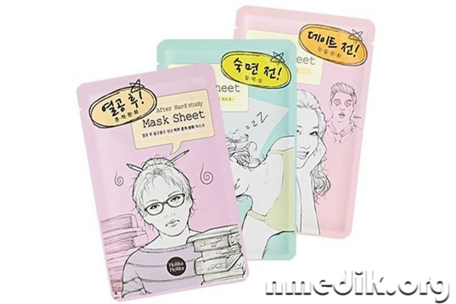 Тканевые маски Holika Before Mask Sheet