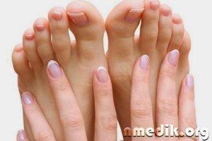 Сухая кожа на руках и ногах