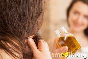 Касторовое масло для волос и кожи головы